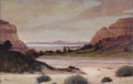 Texas:Early Texas Art - Impressionists, WILLIAM FREDERICK JARVIS (1868-1966). Untitled, 1936.Watercolor. 11.5in. x 18.5in.. Signed lower left. Dated verso. T...