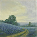 Paintings, FRANK KLEPPER (1890-1952). Untitled - Bluebonnets, 1930's - 1940's. Oil on canvas. 24in. x 24in.. Signed lower left. T...