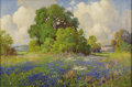Texas:Early Texas Art - Impressionists, ROBERT WILLIAM WOOD (1889-1979). Untitled. Oil on canvas.20in. x 30in.. Signed lower left. This Robert Wood painting ...