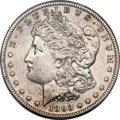 Morgan Dollars, 1893-S $1 -- Cleaning -- PCGS Genuine. AU Details....