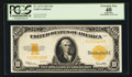 Large Size:Gold Certificates, Fr. 1173 $10 1922 Gold Certificate PCGS Apparent Extremely Fine 40.. ...