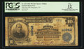 National Bank Notes:Tennessee, Kingsport, TN - $10 1902 Plain Back Fr. 632 The First NB Ch. #10842. ...