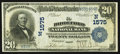 National Bank Notes:Maine, Biddeford, ME - $20 1902 Date Back Fr. 643 The Biddeford NB Ch. #(N)1575. ...