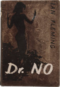 Books:Fiction, Ian Fleming. Dr. No. London: Jonathan Cape, [1958]. Firstedition, first impression (with the text on page 19 still ...