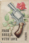 Books:Fiction, Ian Fleming. From Russia, With Love. London: Jonathan Cape,[1957]. First edition, first printing with textual error...