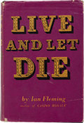 Books:Fiction, Ian Fleming. Live and Let Die. London: Jonathan Cape, [1954]. First edition. In the first issue dust jacket (priced ...