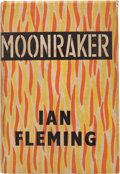 "Books:Fiction, Ian Fleming. Moonraker. London: Jonathan Cape, [1955]. Firstedition. With ""shoot"" complete with matching ""t"" on pag..."