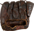 Baseball Collectibles:Others, 1950's Bobby Richardson Game Used Fielder's Glove & Spikes....