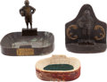 Football Collectibles:Others, Circa 1930's Notre Dame and Knute Rockne Memorabilia Lot of 3....
