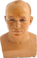 Football Collectibles:Others, Circa 1930 Knute Rockne Bust....