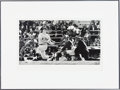 Autographs:Others, Circa 1990 Mickey Mantle Signed Robert Riger Photograph #43/50....