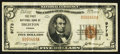 National Bank Notes:Kansas, Dighton, KS - $5 1929 Ty. 1 The First NB Ch. # 9773. ... (Total: 2 items)