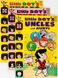 Silver Age (1956-1969):Humor, Little Dot's Uncles and Aunts #5 and 11-52 File Copies Box Lot (Harvey, 1962-74) Condition: Average VF/NM....