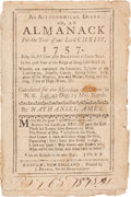 Miscellaneous:Booklets, An Astronomical Diary, or an Almanack, 1757....