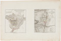 Miscellaneous:Maps, [Revolutionary War]. Two Maps: Battle of Guildford, Fought onthe 15th of March 1781, and Plan of the Battle...