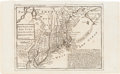 Miscellaneous:Maps, [Colonial America]. Postal Map: New England, New York, NewJersey, and Pensilvania [sic]....