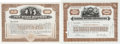 Miscellaneous:Ephemera, Two Early Automotive Industry Stock Certificates: General Motors(100 shares, May 22, 1931) and Nash Motors (unengrossed)....(Total: 2 Items)