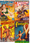 Pulps:Science Fiction, Assorted Science Fiction Pulps Group (Miscellaneous Publishers,1940-50).... (Total: 5 Comic Books)