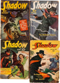 Pulps:Detective, Shadow Group (Street & Smith, 1940-49) Condition: AverageGD.... (Total: 6 Items)