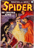 Pulps:Hero, The Spider - April '36 (Popular, 1936) Condition: VG....