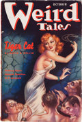 Pulps:Horror, Weird Tales - October '37 (Popular Fiction, 1937) Condition: VG/FN....