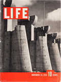 Memorabilia:Miscellaneous, Life Magazine First Issue (Time Inc., 1936) Condition:VG+....