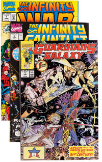 Guardians of the Galaxy/Infinity Gauntlet Group (Marvel, 1990-92) Condition: Average NM-.... (Total: 48 Comic Books)