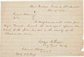 Autographs:Military Figures, [Civil War]. General Roger A. Pryor General Orders No. 1 Signed....