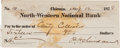 Autographs:Military Figures, Union General Phil Sheridan Check Signed....