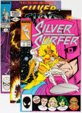 Modern Age (1980-Present):Superhero, Silver Surfer/Quasar Box Lot (Marvel, 1982-96) Condition: AverageNM except as noted....