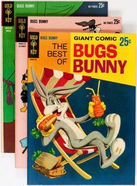 Bugs Bunny #87-216 Near Complete Range Short Box Group (Gold Key, 1962-80) Condition: Average VF
