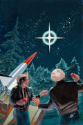 Pulp, Pulp-like, Digests, and Paperback Art, FRANK KELLY FREAS (American, 1922-2005). The Coming. Acrylicon board. 18 x 12 in. (image). Initialed lower right. ...