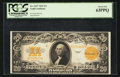 Large Size:Gold Certificates, Fr. 1187 $20 1922 Gold Certificate PCGS Choice New 63PPQ.. ...