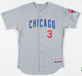 Baseball Collectibles:Uniforms, 2012 Jeff Baker Game Worn Chicago Cubs Jersey. ...