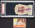 Autographs:Sports Cards, 1960 Topps Nelson Fox Signed Card And A 1959 World Series Game 4 Clubhouse Pass Proof. ...