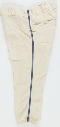 Baseball Collectibles:Uniforms, 1969 Kerby Farrell Game Worn Chicago White Sox Flannel Pants. ...