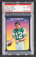 Football Cards:Singles (1970-Now), 1970 Topps Super Glossy Joe Namath #29 PSA NM-MT 8....