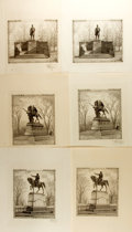 Books:Prints & Leaves, Group of Test Prints from the Society of Iconophiles. 1908-1909.Includes two prints each of David Glasgow Farragut, a Sherm...