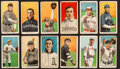 Baseball Cards:Lots, 1909-11 T206 Sweet Caporal Tobacco Card Collection (12). ...