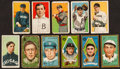 Baseball Cards:Lots, 1909-11 T206 and T205 baseball Card Collection (11). ...