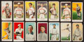 """Baseball Cards:Lots, 1909-1910 """"E"""" Caramel/Candy card Collection (14). ..."""