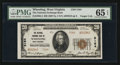 National Bank Notes:West Virginia, Wheeling, WV - $20 1929 Ty. 2 The National Exchange Bank Ch. #5164. ...