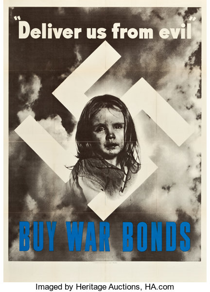 World War II Propaganda Poster (U S  Government Printing