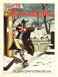 "Movie Posters:Comedy, Hoyt's A Midnight Bell (Strobridge Litho Co., 1896). Poster (28"" X40"").. ..."