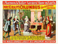 "Movie Posters:Miscellaneous, Barnum and Bailey; Imre Kiralfy's Columbus and the Discovery ofAmerica (Strobridge Litho Co., 1891). Poster (30.25"" X 40"")...."