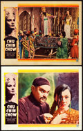 "Movie Posters:Adventure, Chu Chin Chow (Gaumont, 1934). Lobby Cards (2) (11"" X 14"").. ...(Total: 2 Items)"