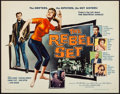 "Movie Posters:Exploitation, The Rebel Set (Allied Artists, 1959). Half Sheet (22"" X 28"").Exploitation.. ..."