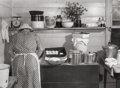 Photographs:Gelatin Silver, MARION POST WOLCOTT (American, 1910-1990). Making Biscuits,Wendell, North Carolina, 1939. Gelatin silver . 8-3/4 x 11-7...