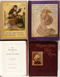 Books:Children's Books, [Andrew Lang, Maud Humphrey, Maxfield Parrish, et al]. Group ofFour Children's Books. Various publishers and dates. Publish...(Total: 4 Items)