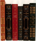 Books:Literature 1900-up, Group of Six Assorted Franklin Library and Easton Press Editions.1980-1990. Limited editions. Gods of War by John Tolan...(Total: 6 Items)